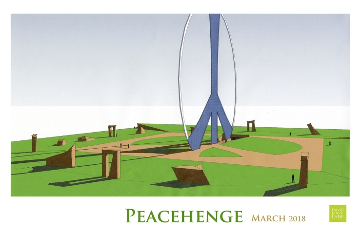 Peacehenge design concept